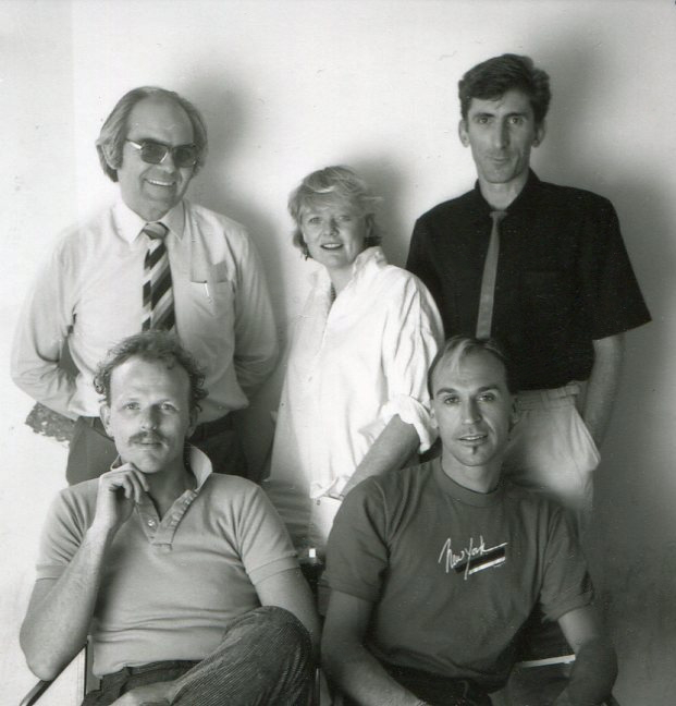 portrait of 5 people in a group